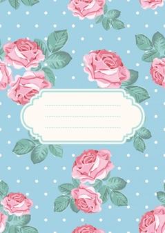 表紙またはカードのテンプレート
