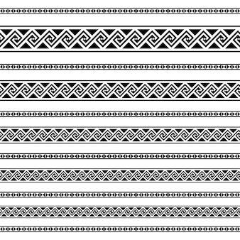 ボーダー装飾要素のパターン