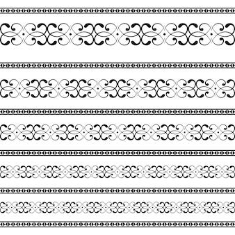 Узоры орнаментов