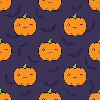 シームレスなハロウィンのパターン