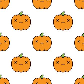 Бесшовный узор на хэллоуин