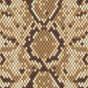 蛇のシームレスパターン