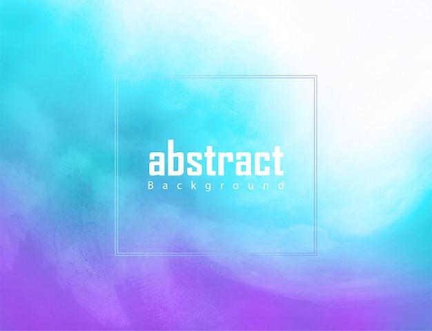 青と紫の水彩テクスチャ抽象的な背景