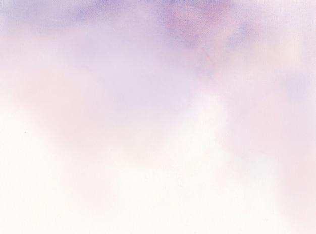 Фиолетовый акварельный абстрактный фон