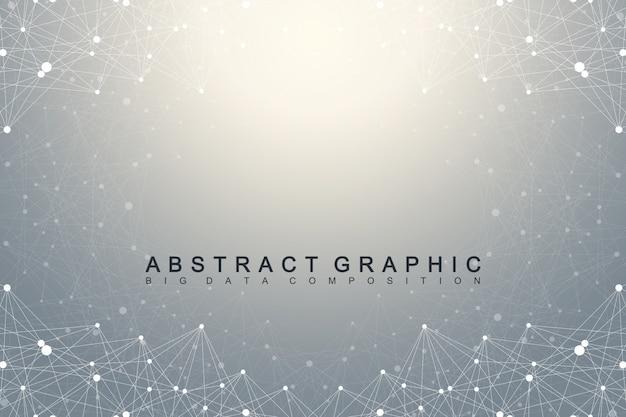 Абстрактный фон цифровых данных