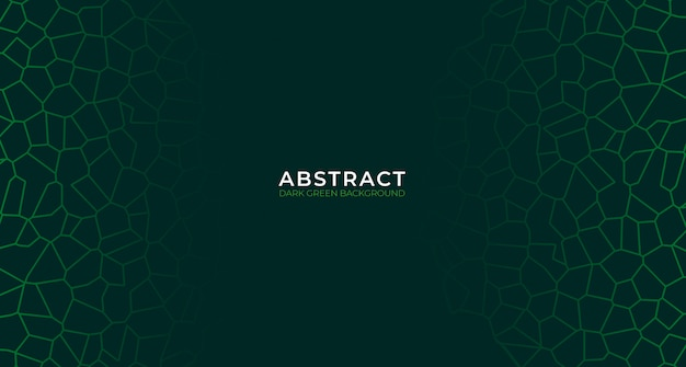 Современный абстрактный темно-зеленый фон