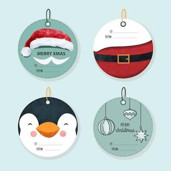 クリスマスラベルコレクション