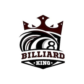 ビリヤード王のロゴ
