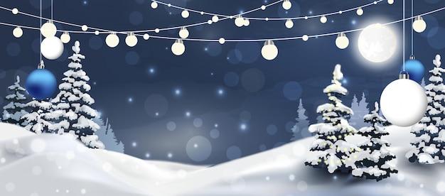 クリスマスが来ています。クリスマス休暇、ロゴの背景