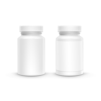 Пустая пластиковая упаковка для таблеток