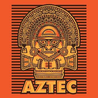 アステカのマスク文化