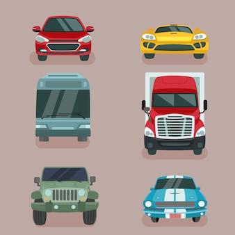 車の種類のコレクション