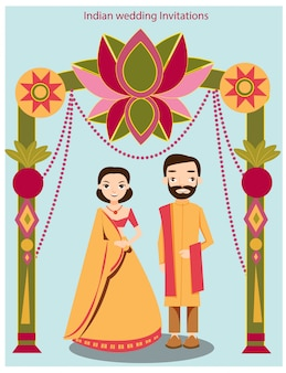 かわいいインドの結婚式