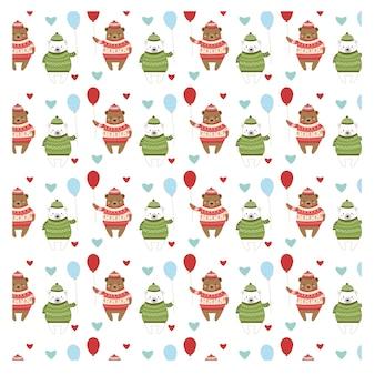 カップルのパターン、クリスマスの衣装