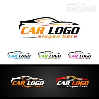 スポーツカー用オートカーロゴ