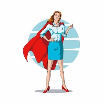 Супер реальная жизнь женщин иллюстрация