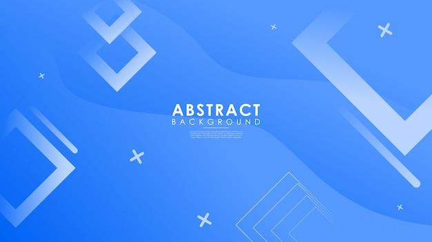 Абстрактный градиентный фон для геометрических фигур