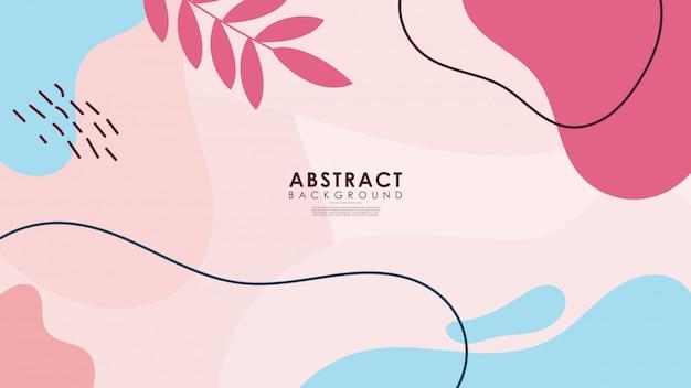 Красивый красочный абстрактный цветочный фон