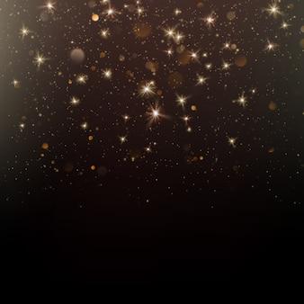 Роскошная поздравительная открытка. звездная пыль светлый фон.