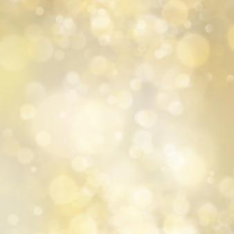 Фон абстрактный золотой блеск расфокусированным боке. рождественский шаблон. праздничные огни.