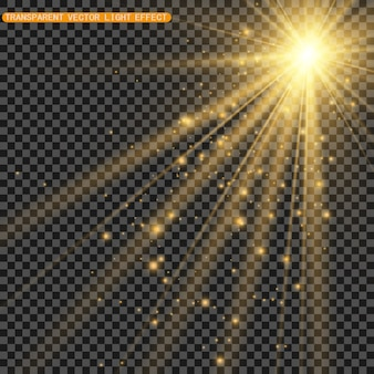 Световой блик спецэффект. иллюстрация