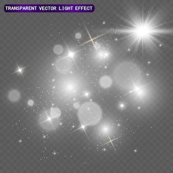 光フレア特殊効果。図