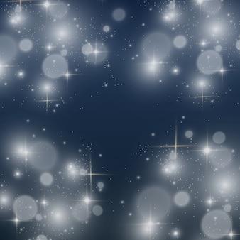 Белый красивый свет взрывается прозрачным взрывом. яркая звезда. прозрачный блеск градиента блеска, яркая вспышка.