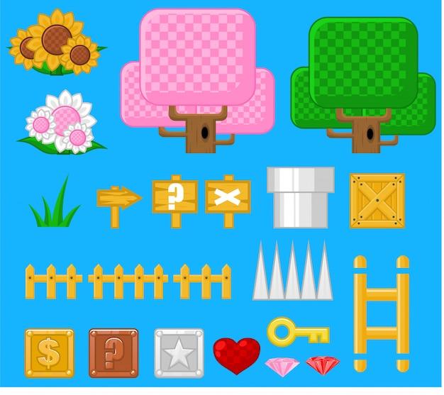 Фэнтези-объекты игры