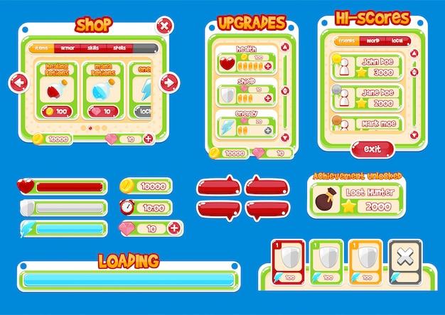 Казуальный игровой интерфейс