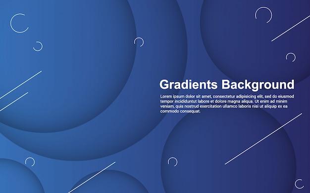抽象的な背景のグラデーション色のイラストベクターグラフィック