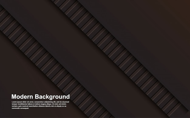 Иллюстрация абстрактного фона черного и коричневого цвета