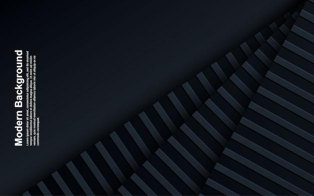 抽象的な背景の黒と青の色のイラスト