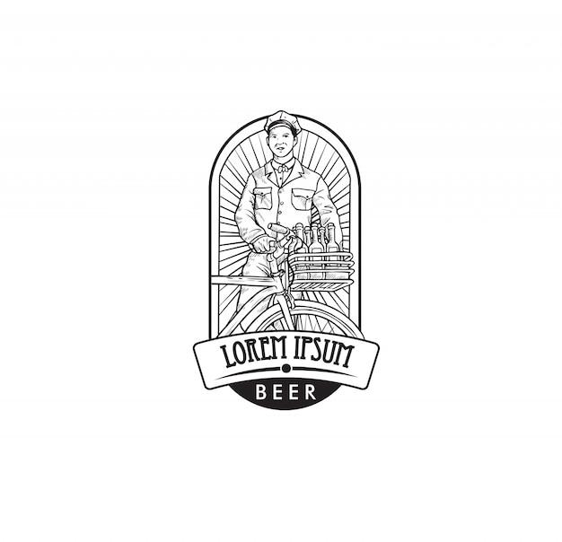 ビール会社のロゴ