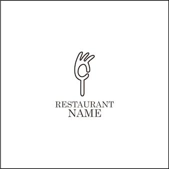 レストランのロゴ