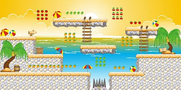 ゲームアプリケーションを作成するためのタイルセットプラットフォーム