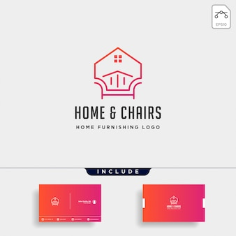 家具のロゴデザイン