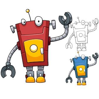 赤いロボット