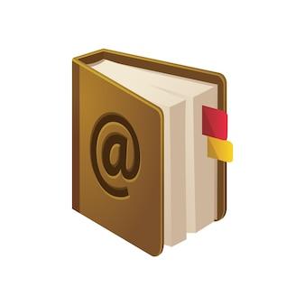 アドレス帳のアイコン