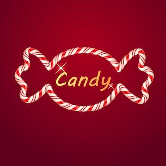 キャンディーの形