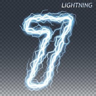 雷と電気番号