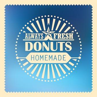 Пончики фона дизайн