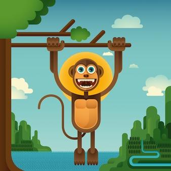 Комическая обезьяна