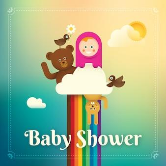 ベビーシャワーの図