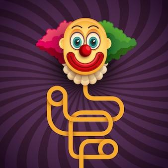 Комический клоун