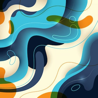 抽象的な背景デザイン