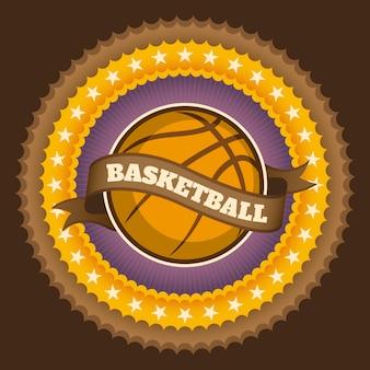 バスケットボールの背景