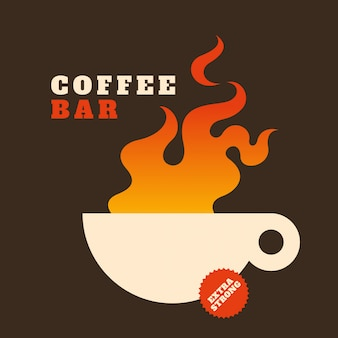 Кофейный фон