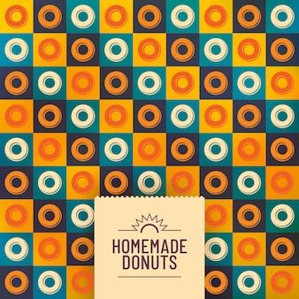 Фон пончики