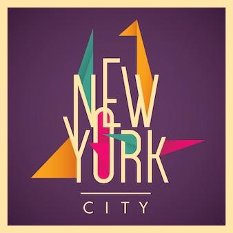 ニューヨークの図