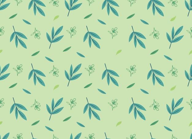 Тропический цветок бесшовные модели осеннего сезона.